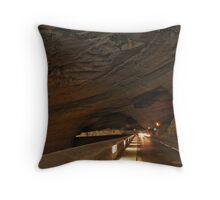 Grotte du Mas d'Azil 2 Throw Pillow