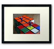 Right & Wrong Framed Print