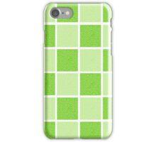 Green Blocks iPhone Case/Skin