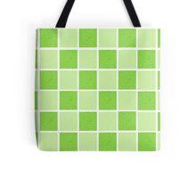 Green Blocks Tote Bag