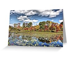 Hoppers Crooked Pond Greeting Card