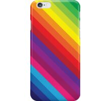 RAINBOW STRIPE bright bold colourful iPhone Case/Skin
