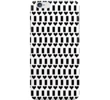 Love in black and white iPhone Case/Skin