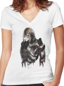 Geth Women's Fitted V-Neck T-Shirt