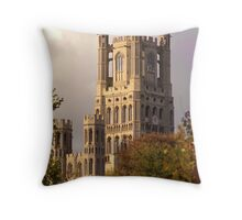 Ely Cathedral Tower (UK) Throw Pillow