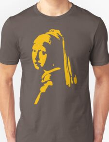 Girl with a Pearl Earring Unisex T-Shirt