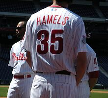 Cole Hamels by DeWolf
