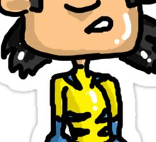 Wolvie Wolverine Sticker