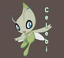pokemon celebi anime shirt by JordanReaps