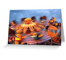 In a spin - Munich Oktoberfest  Greeting Card