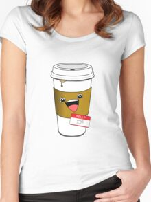 Hello my name is Joe Women's Fitted Scoop T-Shirt