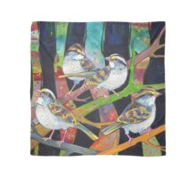 White-throated sparrows Scarf