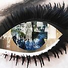 Eye with New York City Reflection by Kim McClain Gregal