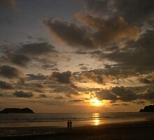 The Sun Sets on Manuel Antonio National Park by maryalexa