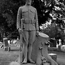 WWI Headstone - German Cemetary Manitowoc, Wisconsin by loralea
