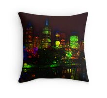 Waterfront IV Throw Pillow