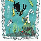 Postcards for the Reef 7: Deep Sea Diva by MiMiDesigns