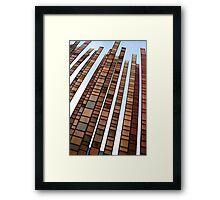 Steel in Sky Framed Print