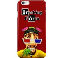 Breaking Farm 3D face iPhone Case/Skin