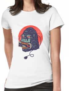 kong Womens Fitted T-Shirt
