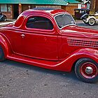 Red Ford by Bryan D. Spellman