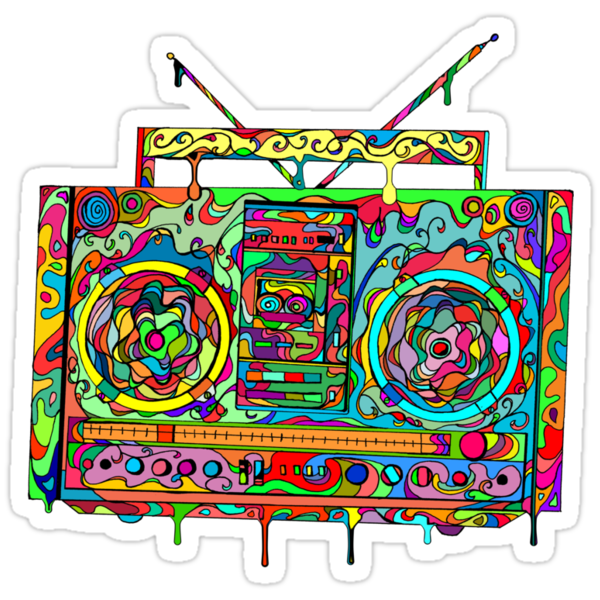 Boom Box by Octavio Velazquez