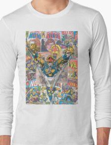 Vintage Comic Nova Long Sleeve T-Shirt
