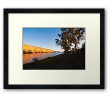 Swan Reach Cliffs Framed Print