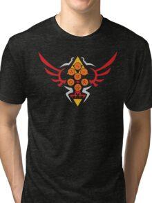 Hylian Dragon Ball Crest (2) Tri-blend T-Shirt