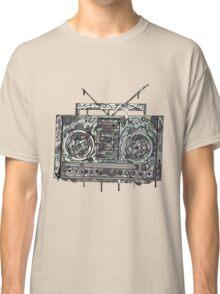 Boom Box Gray Classic T-Shirt