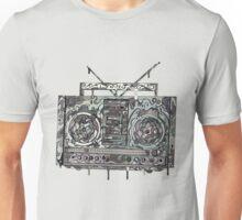 Boom Box Gray Unisex T-Shirt