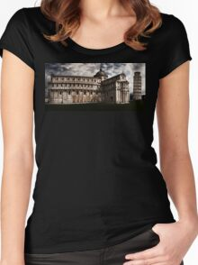 The Leaning Tower Of Pisa Women's Fitted Scoop T-Shirt