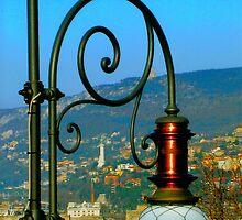 Trieste, Italy - a Street Lantern by Igor Pozdnyakov
