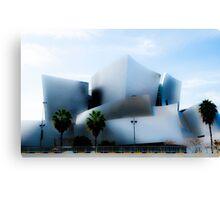 Disney Concert Hall Series #1 Canvas Print