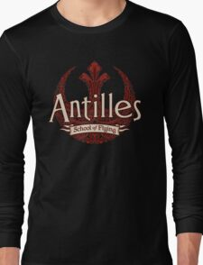 Antilles School of Flying (Dark) Long Sleeve T-Shirt