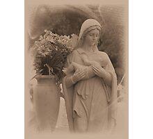 Mary and Baby Jesus Photographic Print