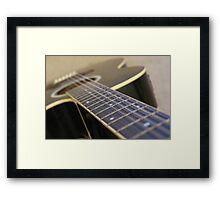 Guitar Framed Print