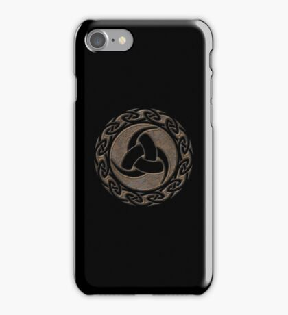 Triple Horn of Odin, Celtic Knot, Triforce, Odin Symbol iPhone Case/Skin