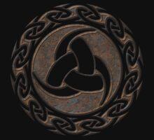 Triple Horn of Odin, Celtic Knot, Triforce, Odin Symbol One Piece - Short Sleeve