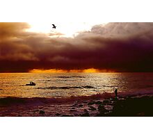 DRAMATIC COAST Photographic Print