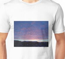 Cloud Dusk Blankets Unisex T-Shirt
