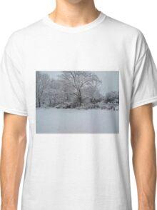 Snowy Scene Classic T-Shirt