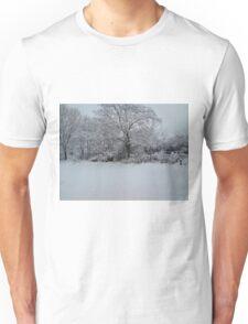 Snowy Scene Unisex T-Shirt