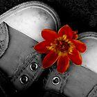 ...Flower Converse2... by ReveLinWonder
