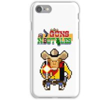 Guns n' bottles iPhone Case/Skin