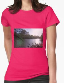 The River Swale Womens Fitted T-Shirt