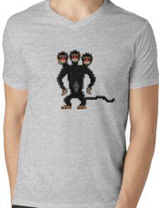 Look behind you! (Monkey Island) Mens V-Neck T-Shirt