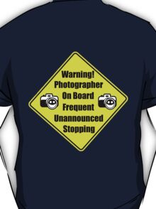 Warning!! T-Shirt
