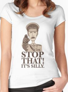 Stop That! Women's Fitted Scoop T-Shirt
