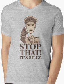 Stop That! Mens V-Neck T-Shirt